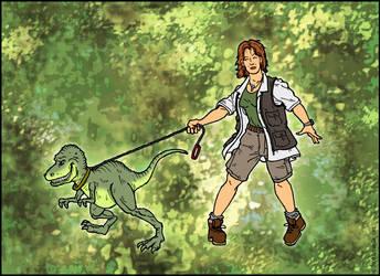 Walk the Dinosaur by sonicblaster59