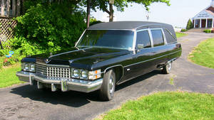 The Last Ride my 1974 caddy hearse by sonicblaster59