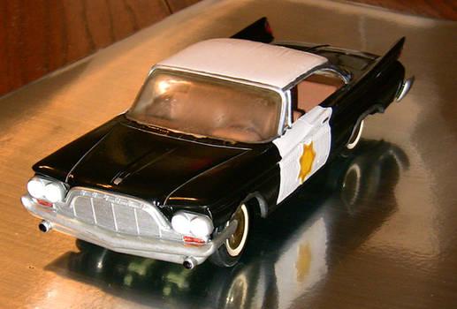 Sam and Max police car