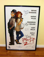 PAPERCUT 2 signed movie poster by sonicblaster59