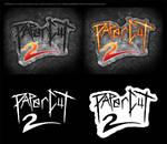 PAPERCUT 2 (2013) Movie Logo by Bryan Sanders
