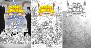 Darkest Dungeon Movie Poster Tests WIP by sonicblaster59