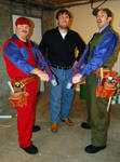 Me with the Super Mario Bros by sonicblaster59