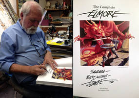 Larry Elmore Book Signing