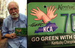 Larry Elmore Signed License Plate by sonicblaster59
