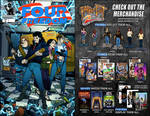 FOUR FREEDOM ISSUE 2 comic book COMING SOON! by sonicblaster59