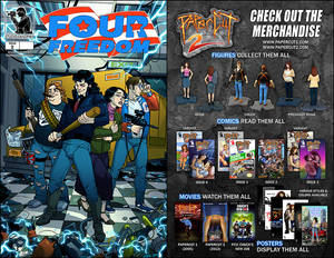 FOUR FREEDOM ISSUE 2 comic book COMING SOON!