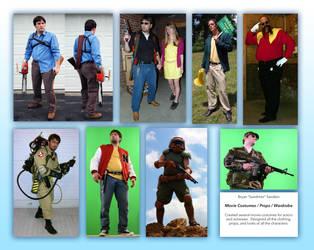 Movie Costumes / Props / Wardrobe