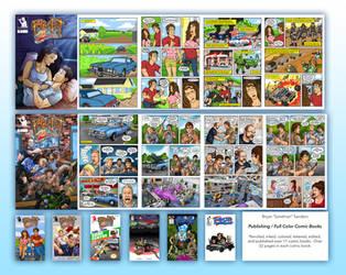 Publishing / Full Color Comic Books