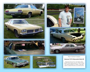 Restored 1973 Oldsmobile Delta 88