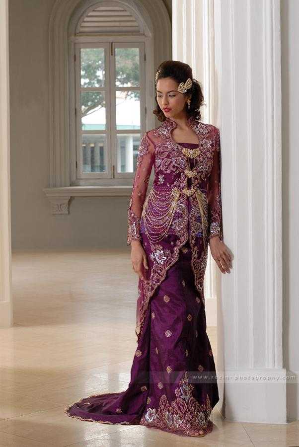 Malay wedding dress 2 by raz1n on deviantart for Wedding dress malaysia online