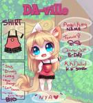 DA-ville: Angel Kitty