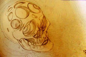 Meat-skull by Hencid