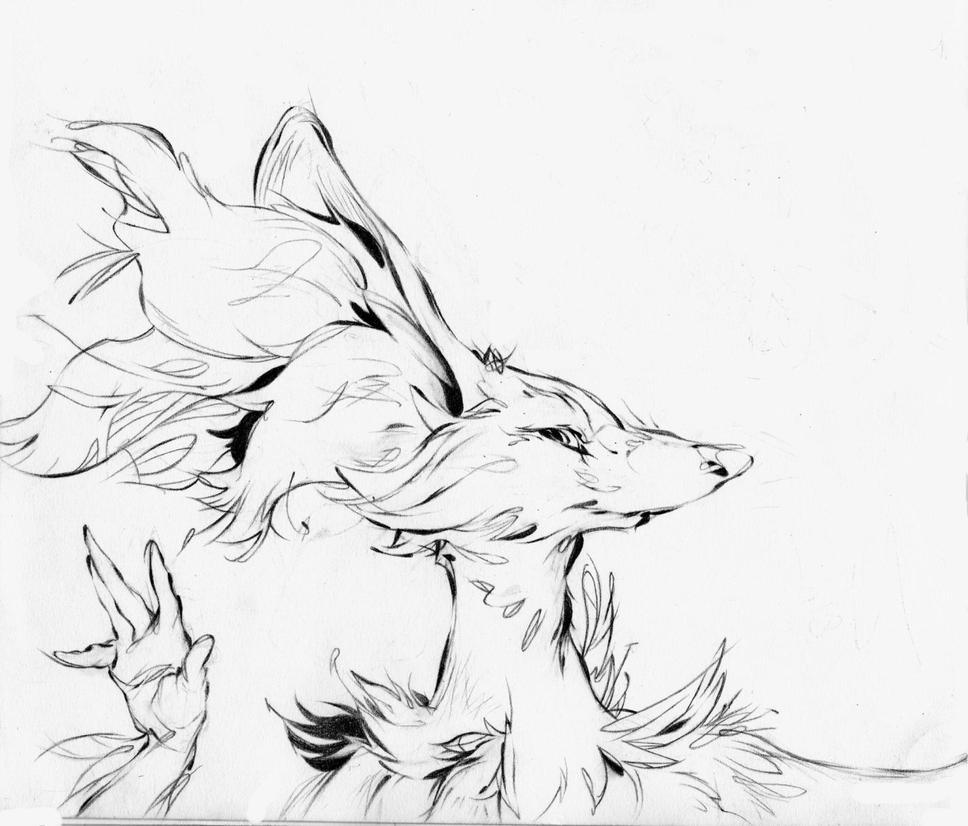 Delphox by Hencid