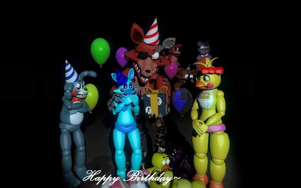 Fnaf Gmod] It's my birthday~! by ColleenLok on DeviantArt