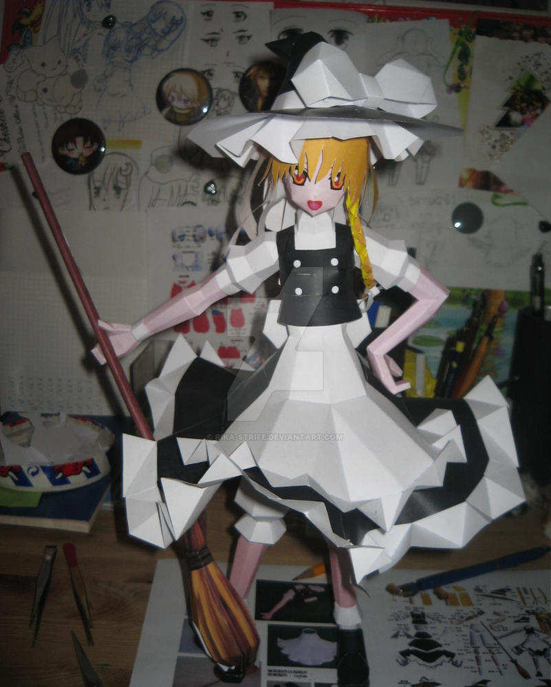 Papercraft Marisa by Rika-strife