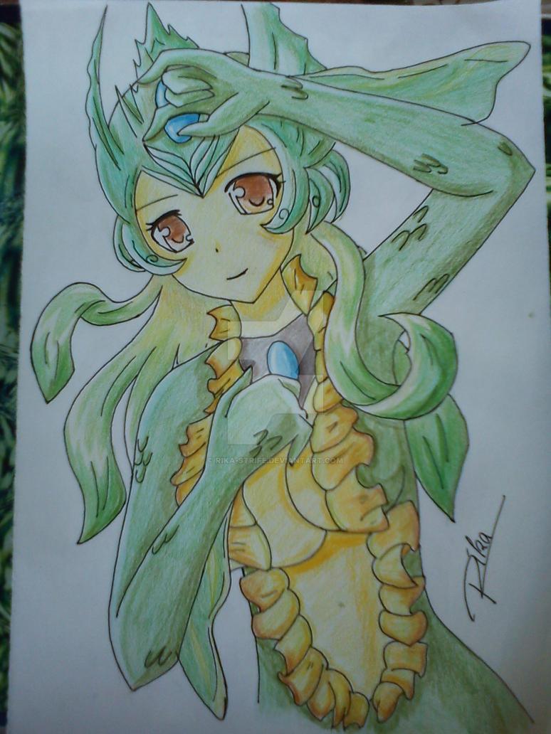 Nami the mermaid by Rika-strife
