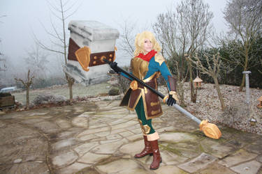 Poppy Cosplay Swinging from the heels! by Rika-strife