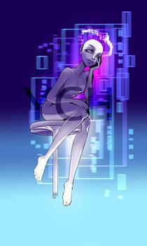 Cyberpunk Angel YCH [OPEN]
