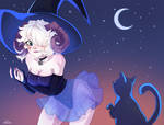 Cute Witch /Commission/