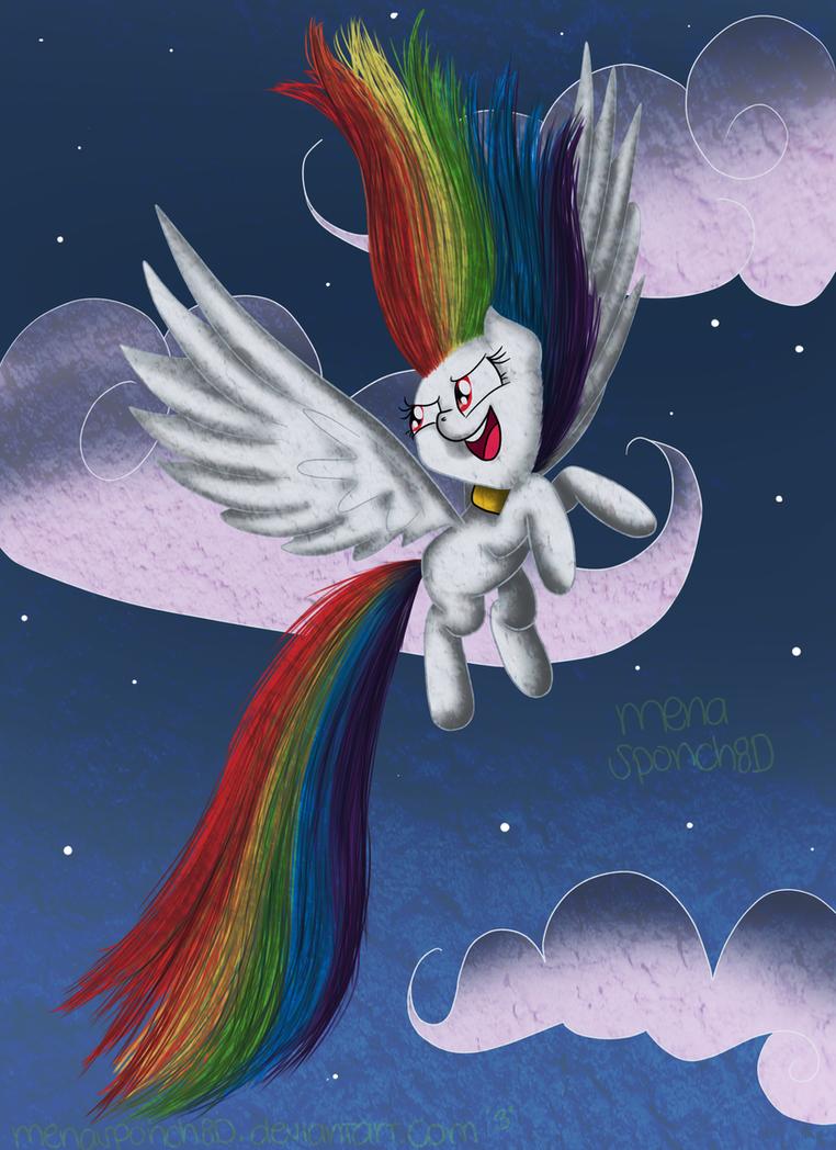 Super Rainbow Dashie by CosmicPonye