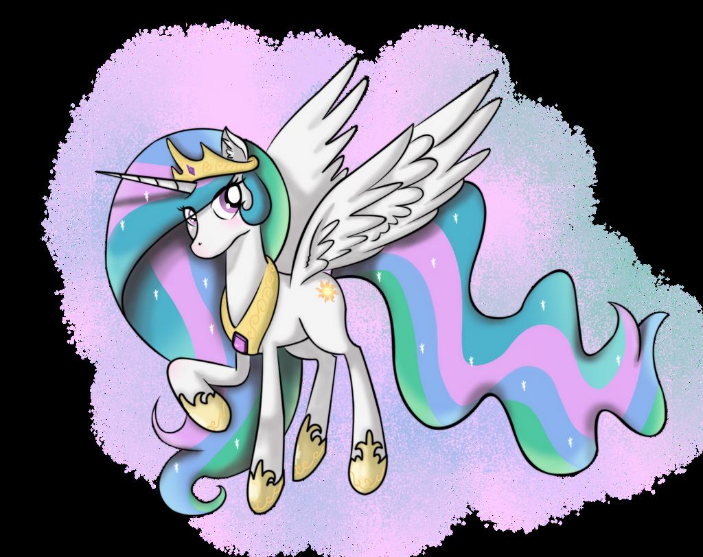 Dear sweet Celestia by CosmicPonye