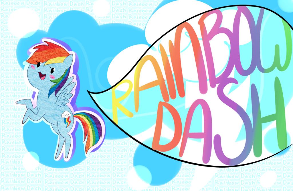 FREE Rainbow Dash Wallpaper by CosmicPonye