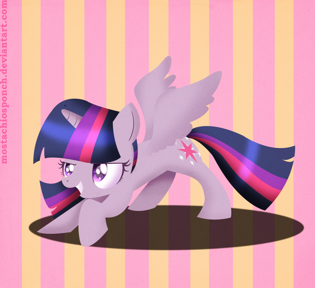 Alicorn Twilight by CosmicPonye
