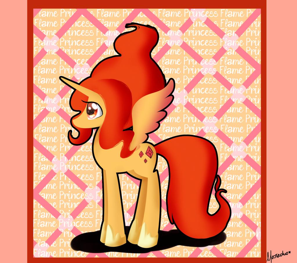 Alicorn Flame Princess by CosmicPonye