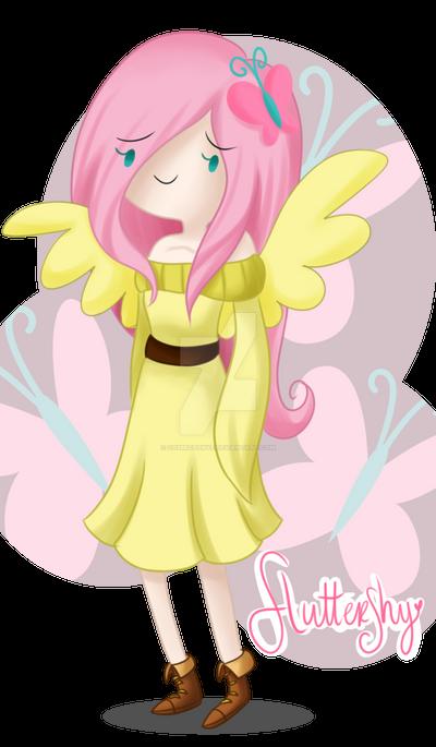 .Fluttershy. -AGAIN?- by CosmicPonye