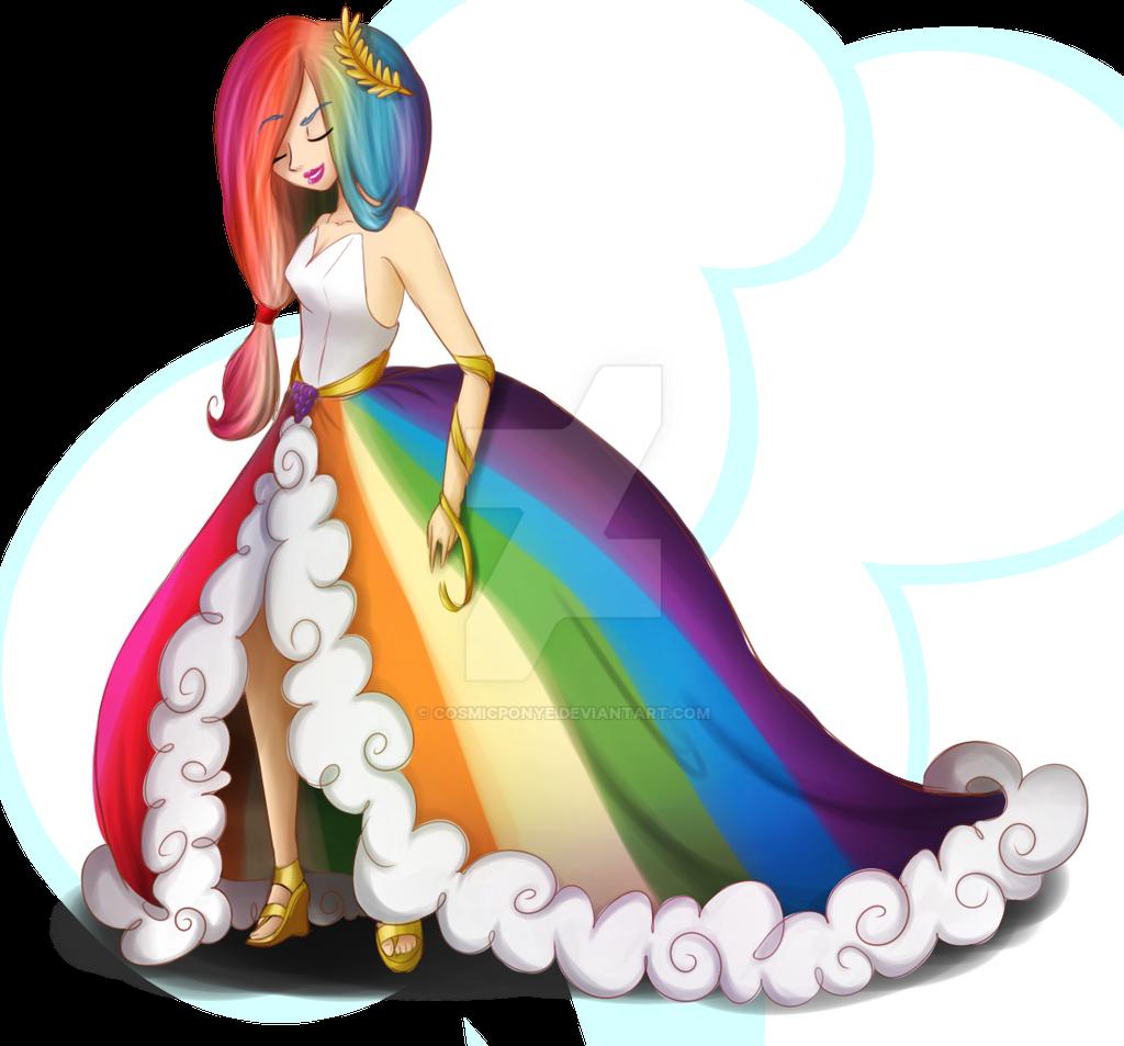 .G.d Rainbow Dash. by CosmicPonye