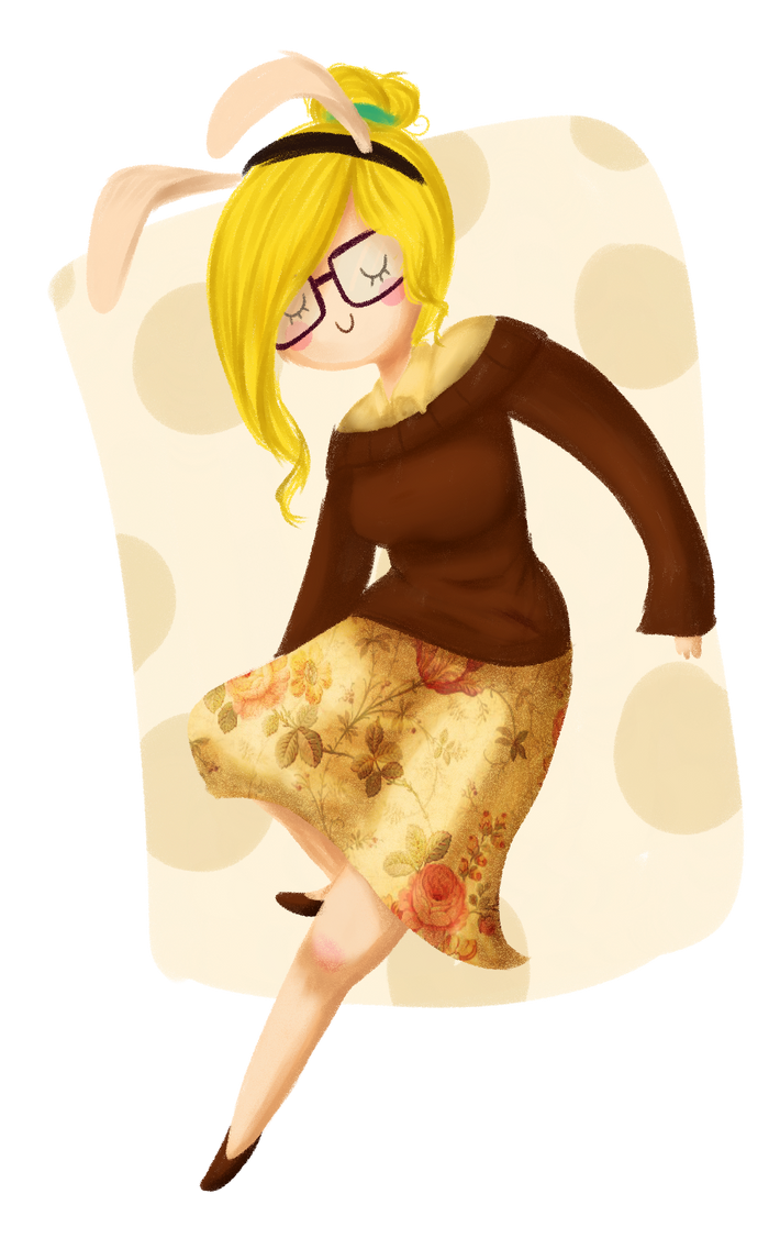 Hipster Fionna by CosmicPonye