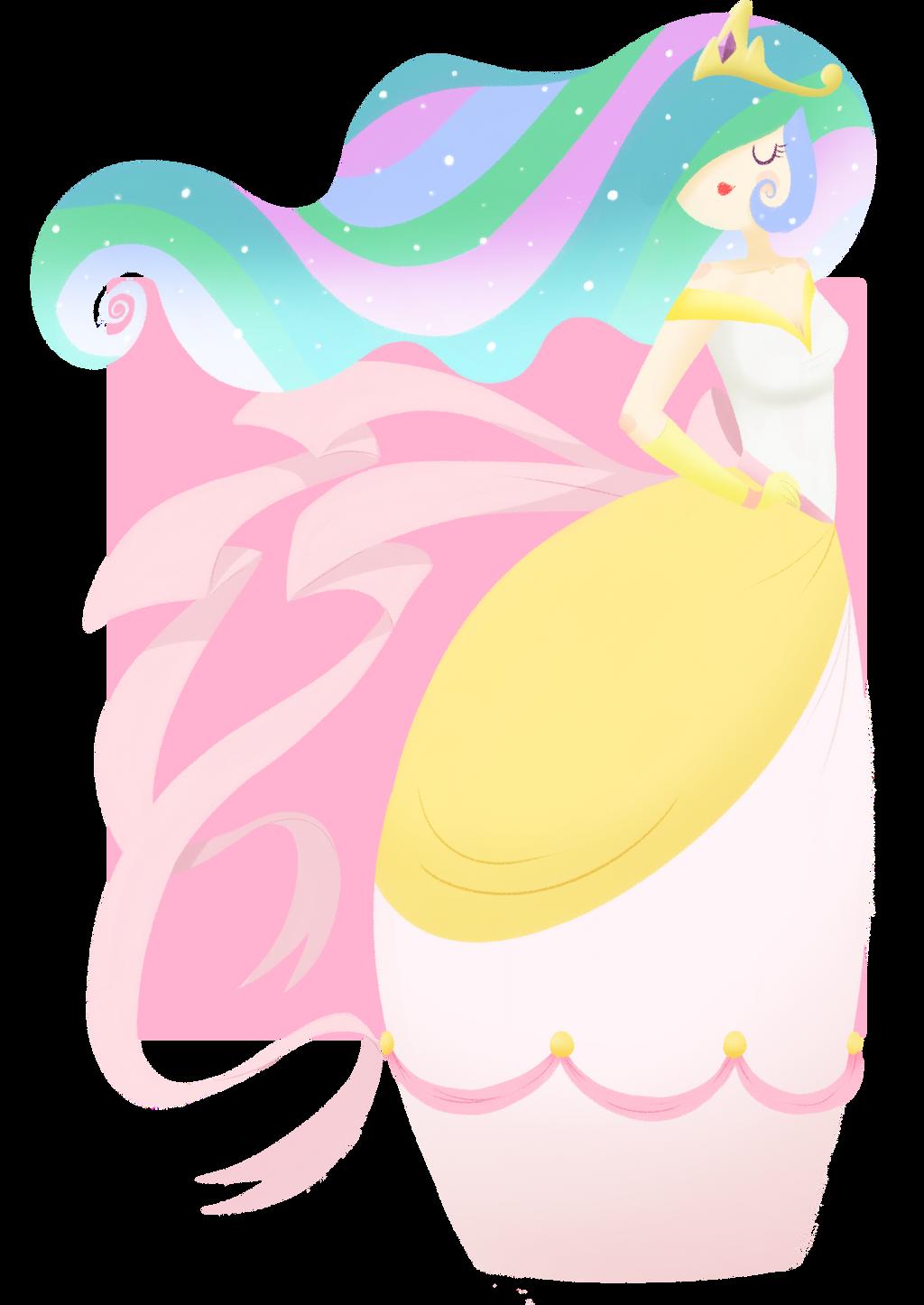 Princess Celestia by CosmicPonye