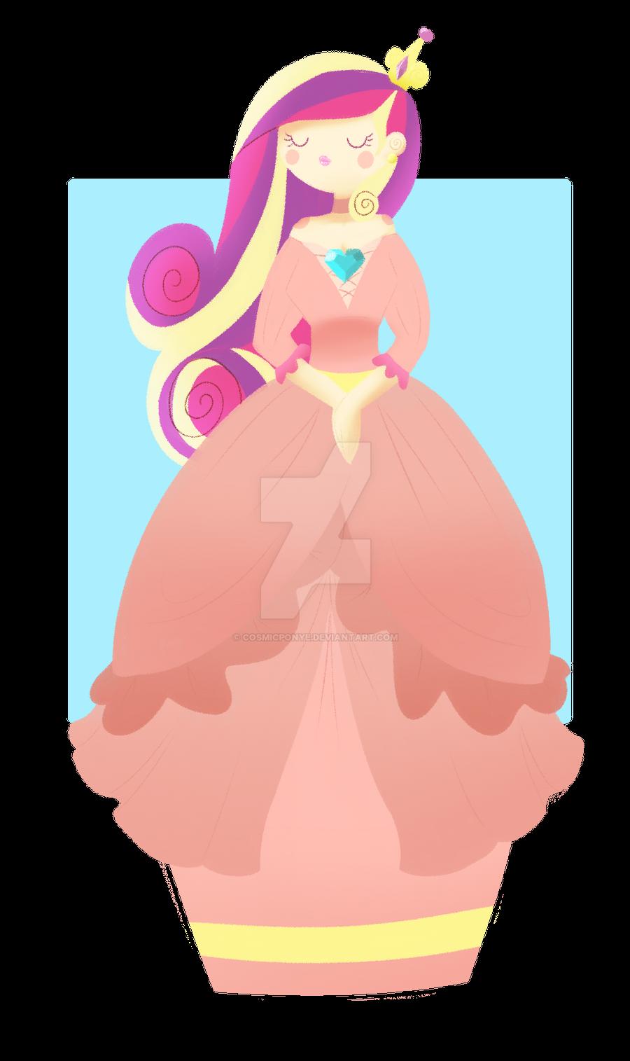Princess Cadence by CosmicPonye