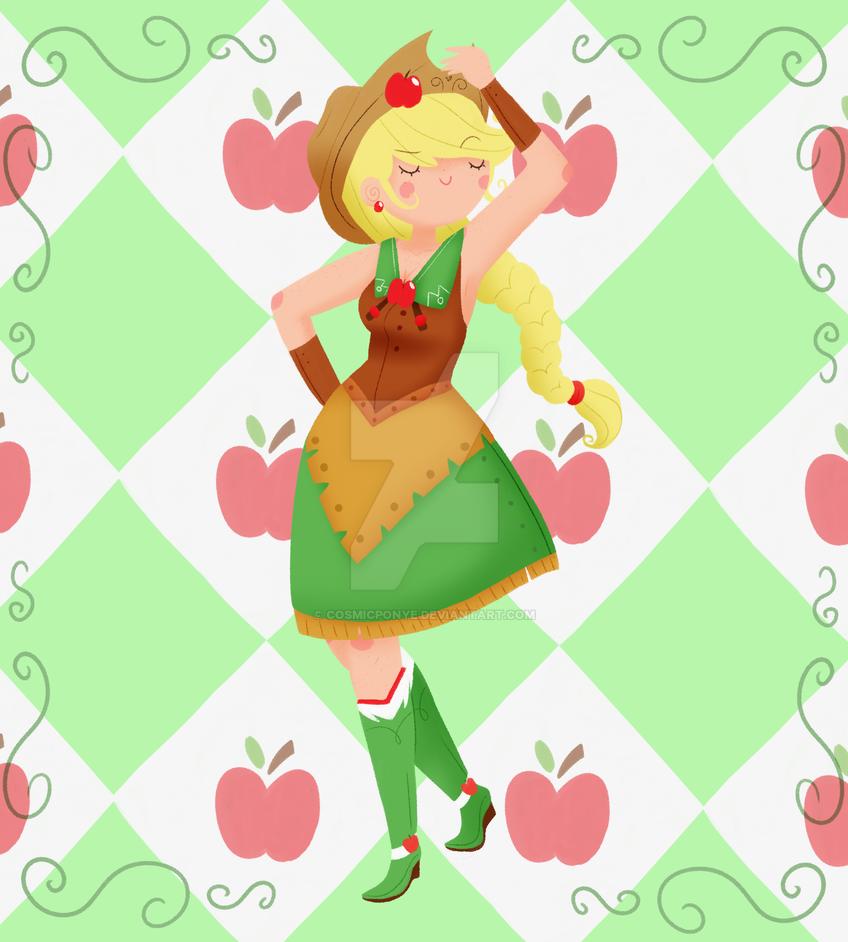 Apples by CosmicPonye
