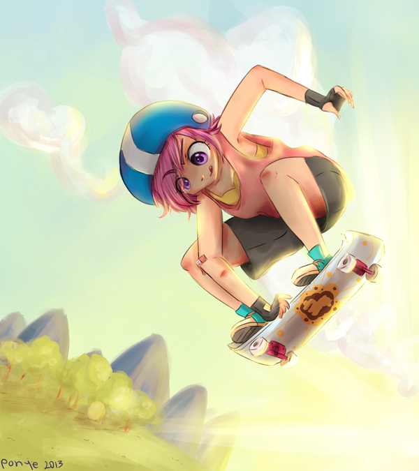 scoot by CosmicPonye