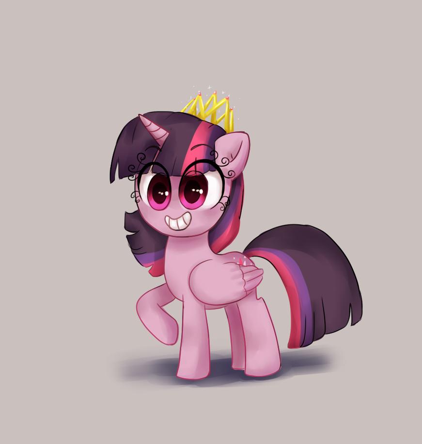 Worm book princess by CosmicPonye
