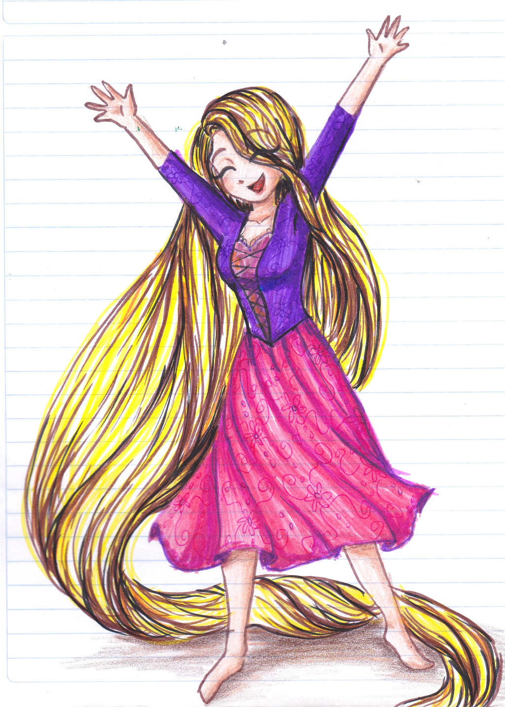 Rapunzel by CosmicPonye