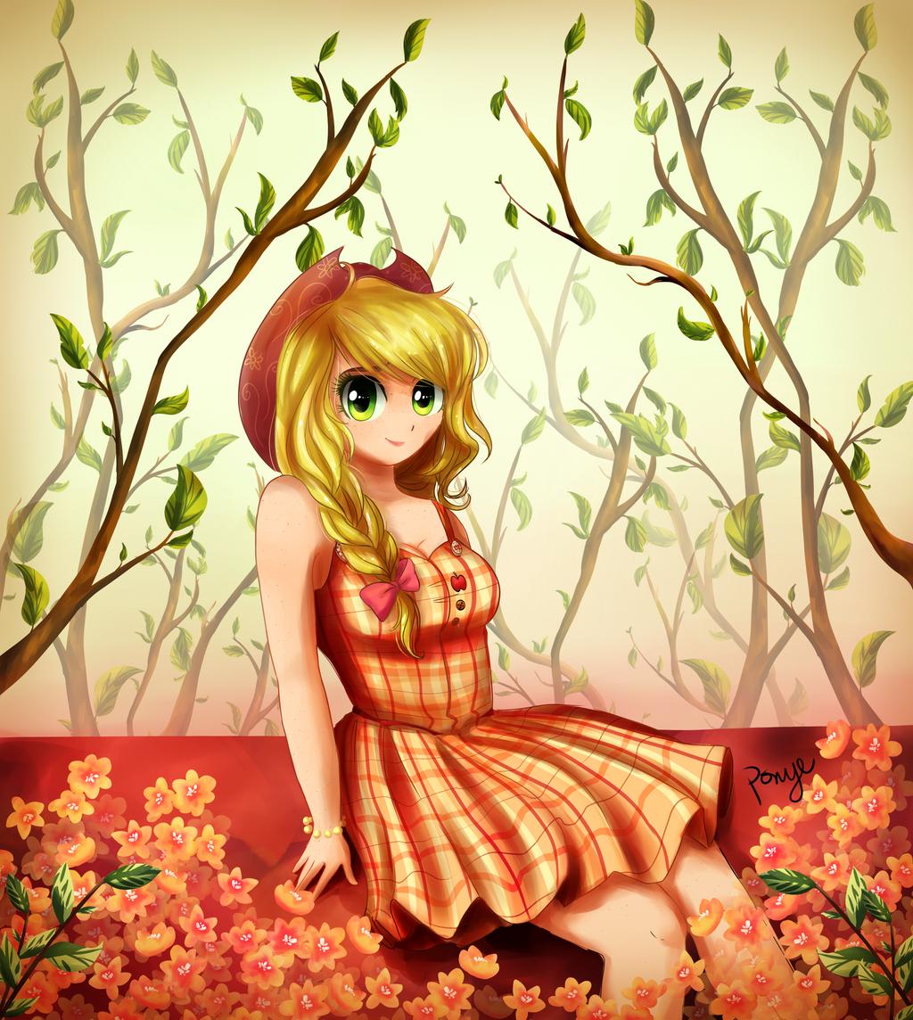 Pwetty Applejack by CosmicPonye