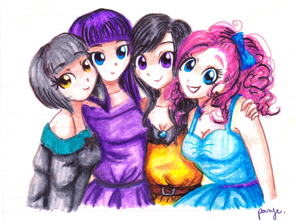Rock Farm Sisters by CosmicPonye