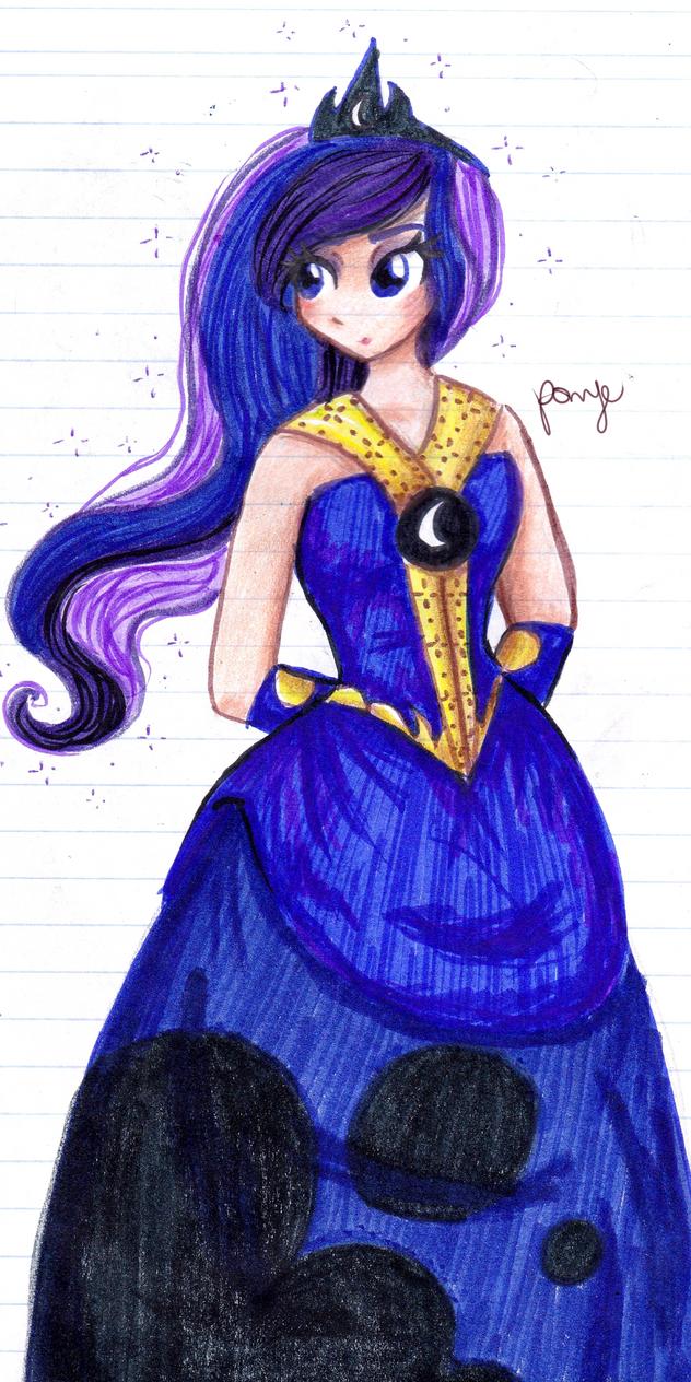 Princess of the moon by CosmicPonye