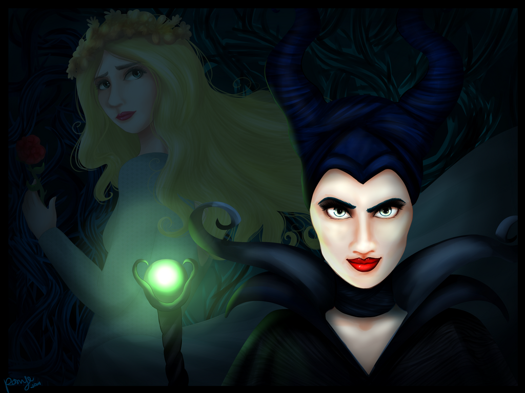 Maleficent by CosmicPonye