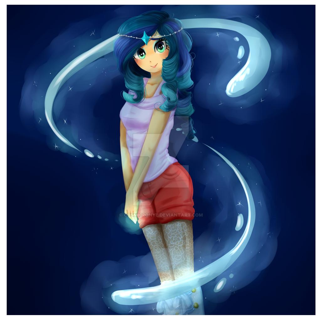 Commission Aqua-wish by CosmicPonye