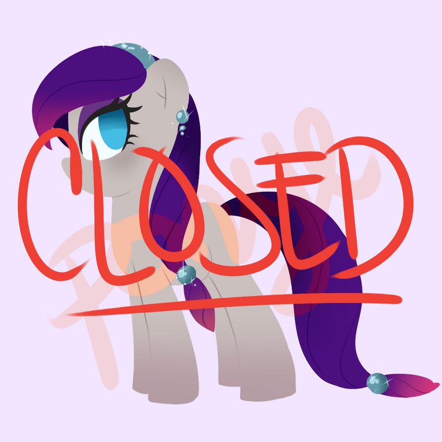 Pony Adoptable #3 by CosmicPonye