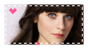 Zooey Deschanel Stamp by CosmicPonye
