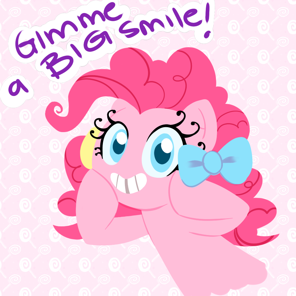 Gimme A Smile by CosmicPonye