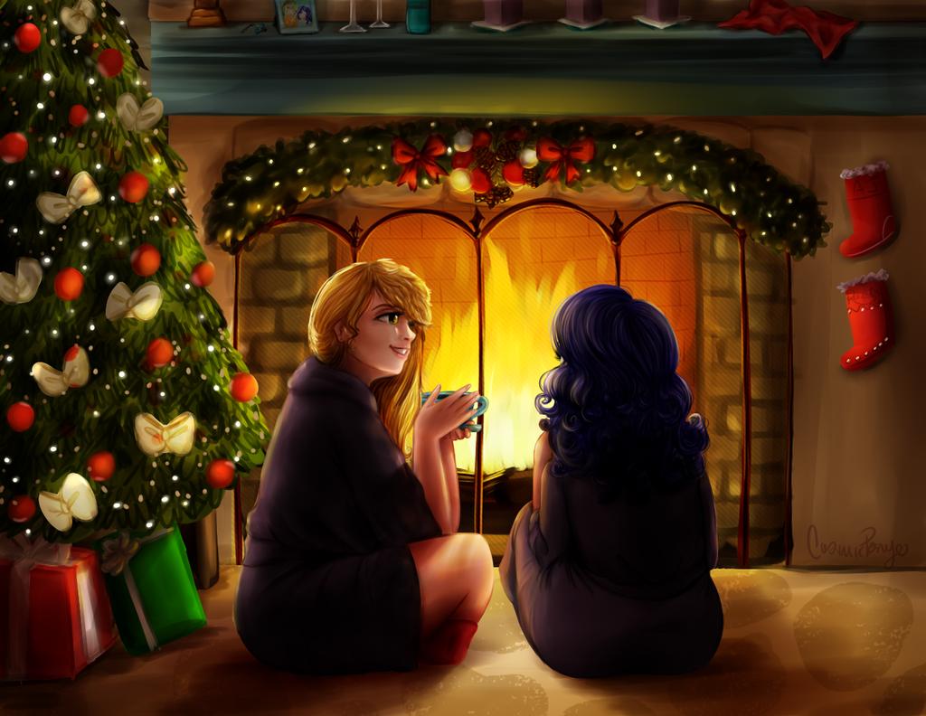 Happy Heart's Warming Eve by CosmicPonye