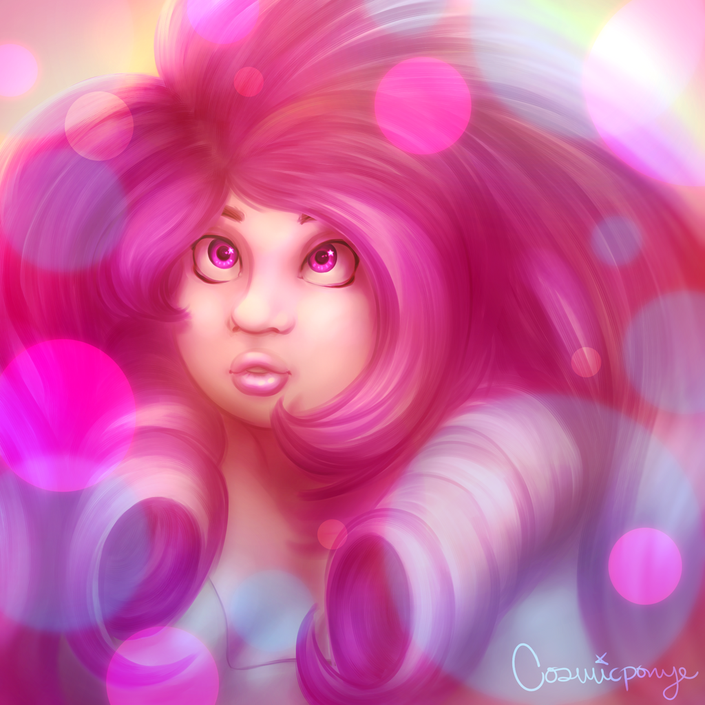 Rose Quartz by CosmicPonye