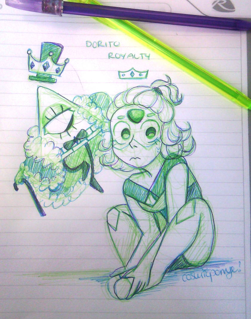 dorito royalty by CosmicPonye