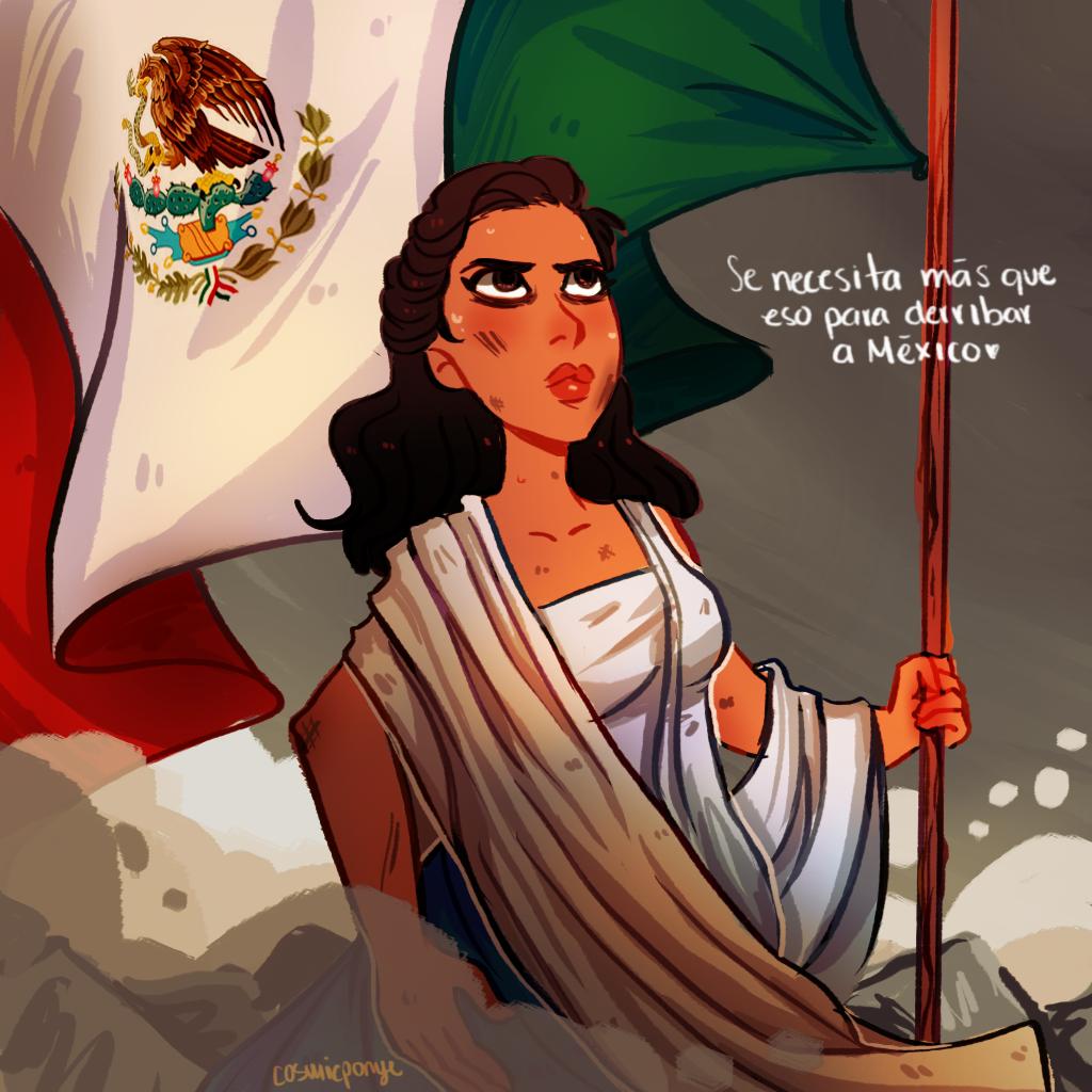 Mi Mexico by CosmicPonye